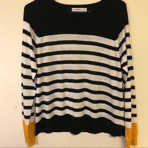 Zara Striped Long Sleeve Top